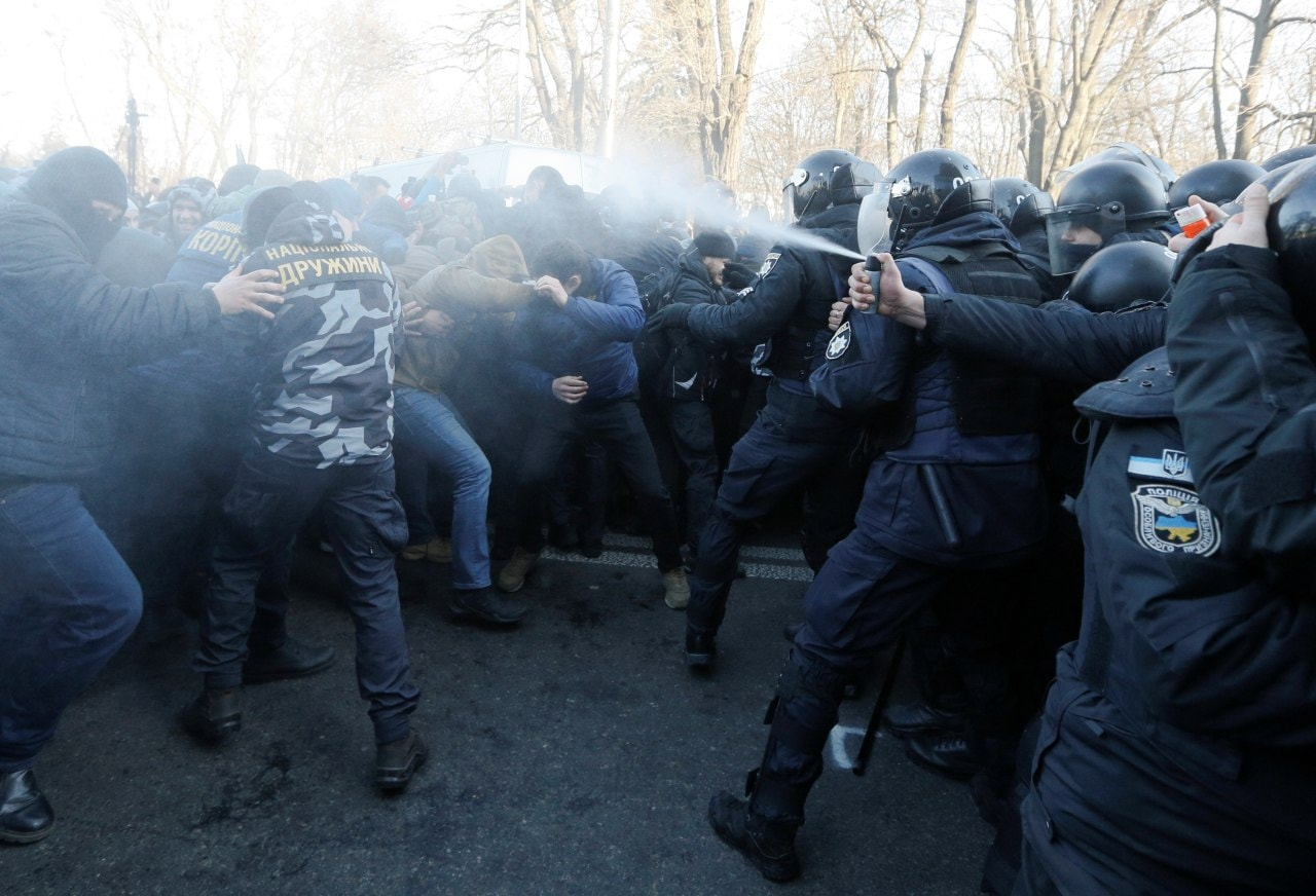 Riots In Kiev Over Zelensky's Land Reform