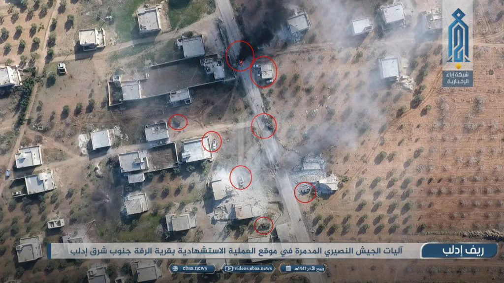 In Videos: Militants Conduct ATGM Strikes, SVBIED Attack On Syrian Army Positions