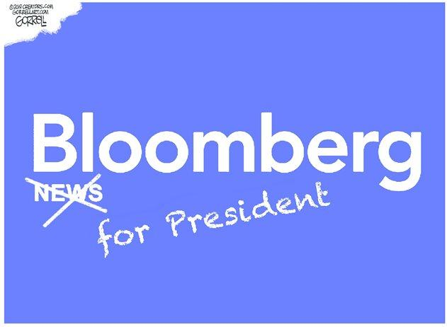 """White House Revokes Press Pass For """"Openly Biased"""" Bloomberg News"""