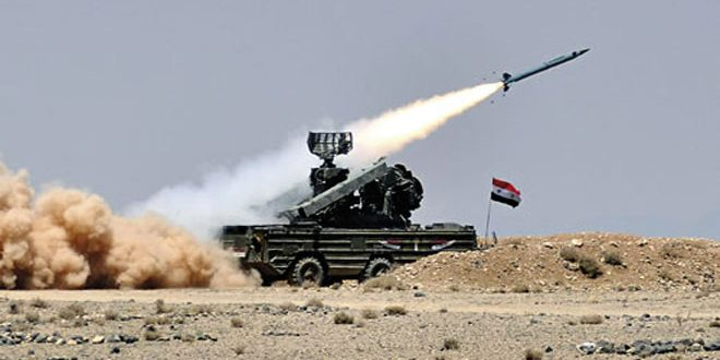 Syrian Air Defense Repels Israeli Missile Attack On Damascus Countryside