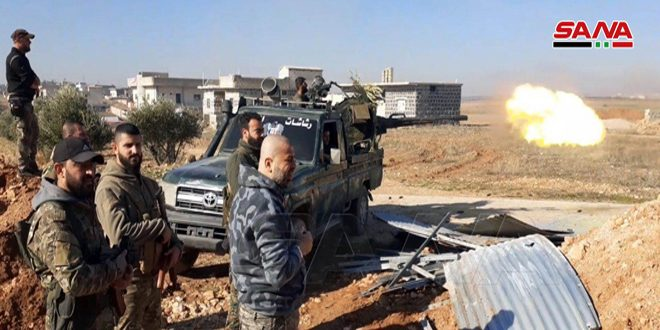 Idlib MIlitants Continue 'Tactical Retreat'. Army Liberated 4 More Villages (Map)