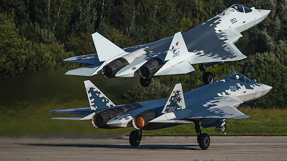 Su-57 Fighter Jet Crashed During Factory Trials In Russia's Far East. Pilot Survived