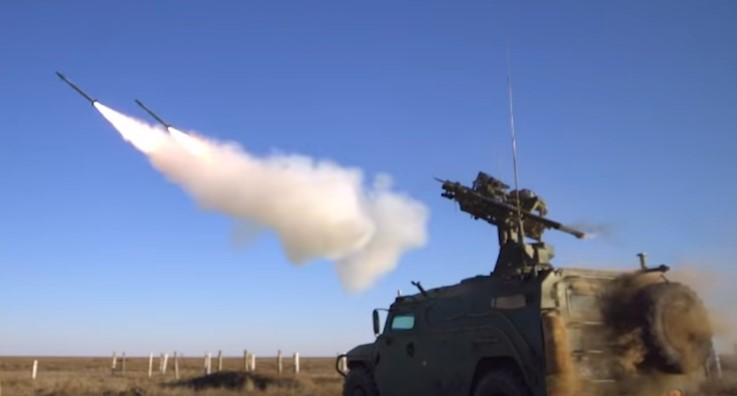 New Russian Gibka-S Close Range Air Defense System In Action (Video)
