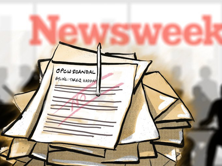 Journalist: Newsweek Suppressed OPCW Scandal And Threatened Me With Legal Action