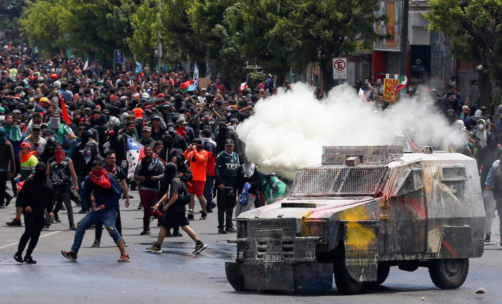 """U.S. Helping """"Legitimate Governments"""" in Latin America to Prevent Protests from """"Morphing into Riots"""""""