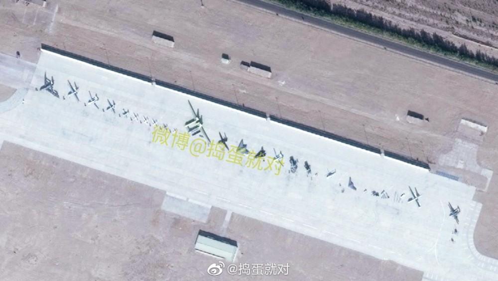 Satellite Image Shows Impressive Lineup Of Combat Drones At China's Malan Air Base