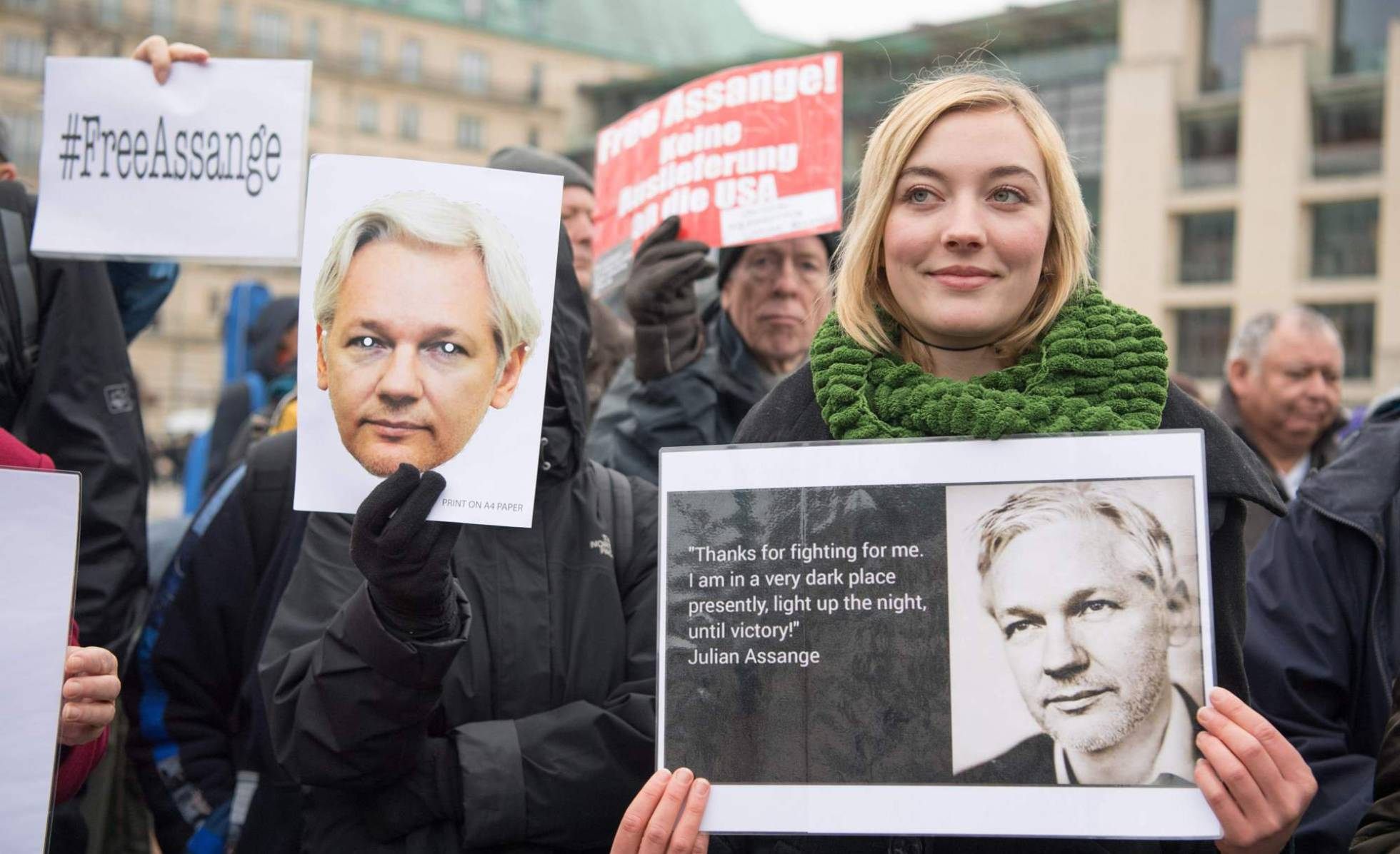 Journalist Julian Assange Charged With New American Indictment