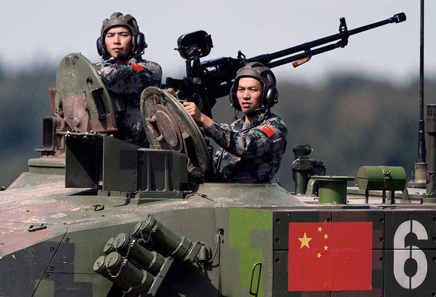 Is It Worth to Be Afraid of the Chinese Military Power?
