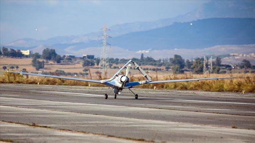 First Turkish Military Drone Landed In Northern Cyprus