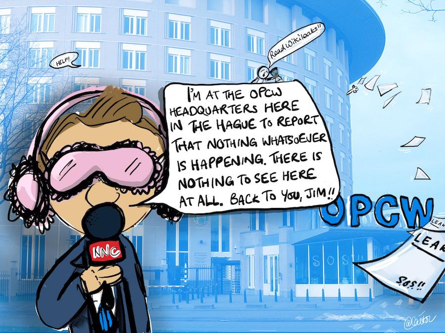 Media's Deafening Silence On Latest WikiLeaks Drops Is Its Own Scandal