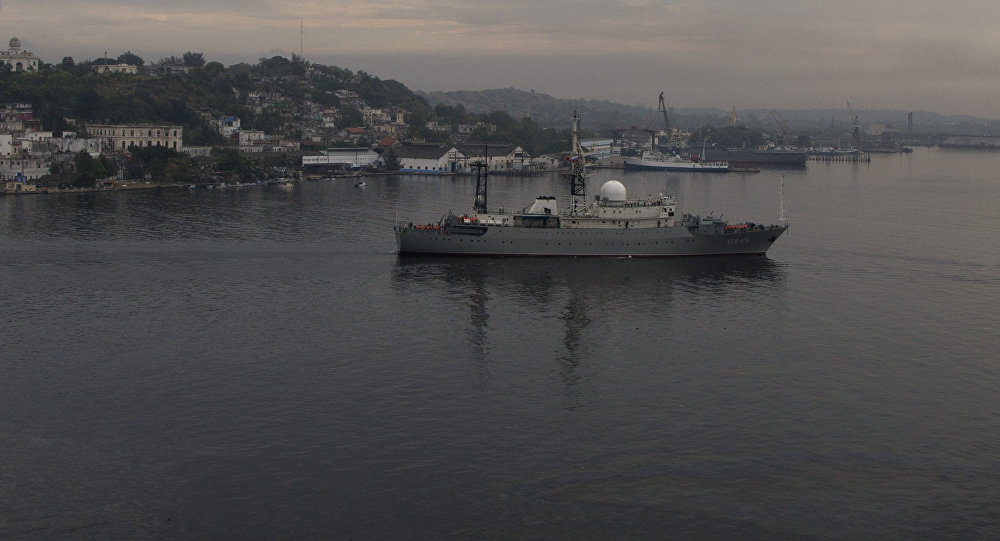 "US Coastal Guard Claims Russian Surveillance Ship Operated ""Unsafely"" Off the Coast of South Carolina"