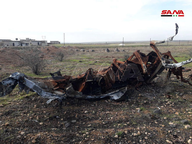 Militants' Destroyed Equipment And Abandoned Positions In Southeast Idlib (Video, Photos)
