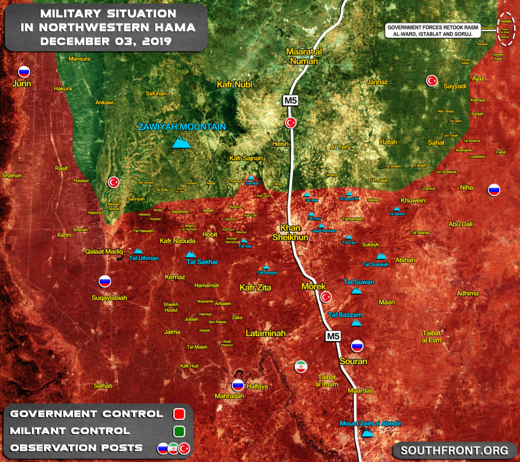 Syrian Army Retook 3 Villages Captured By Militants In Their Recent Attack (Map Update)