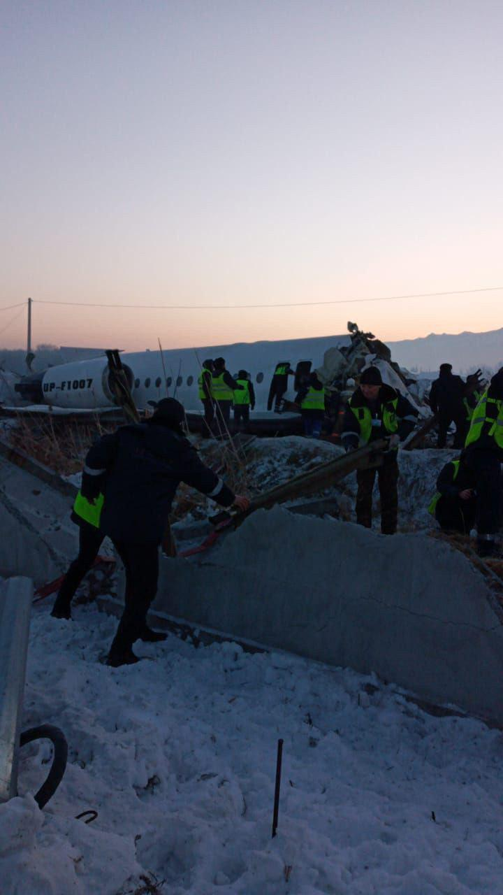 Bek Air Jet With Up To 100 People On Board Crashed In Kazakhstan (Photos, Video)