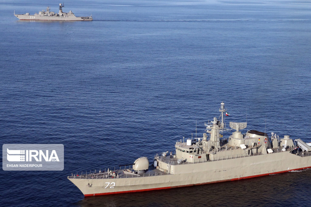 Iran To Attack Foreign Spy Aircraft And Ships Operating In Area Of Joint Iranian-Chinese-Russian Naval Drills