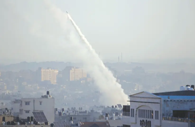 Rocket Fire From Gaza, As IDF Chief Warns of Israel's Willingness to Strike Civilian Infrastructure