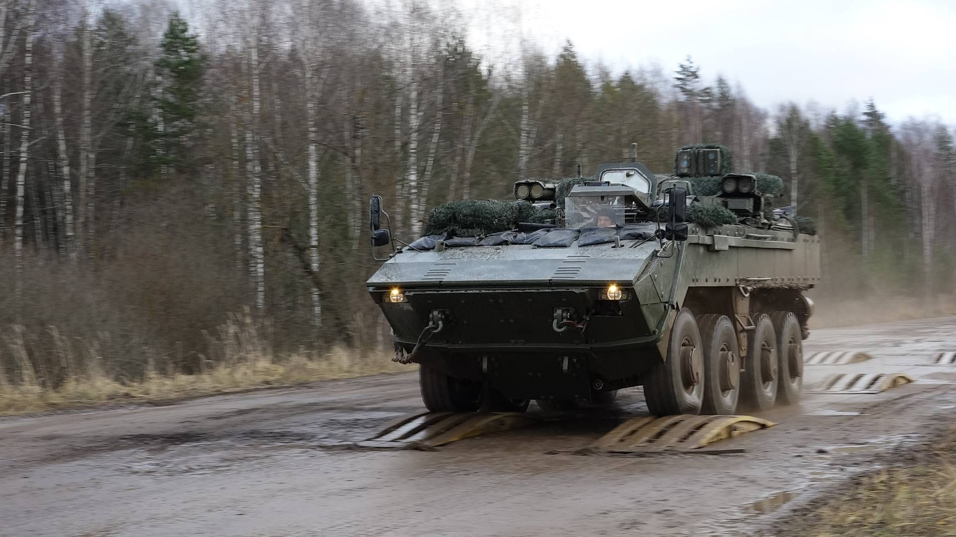 Russia's Boomerang Unified Wheeled Combat Platform Passed Preliminary Tests