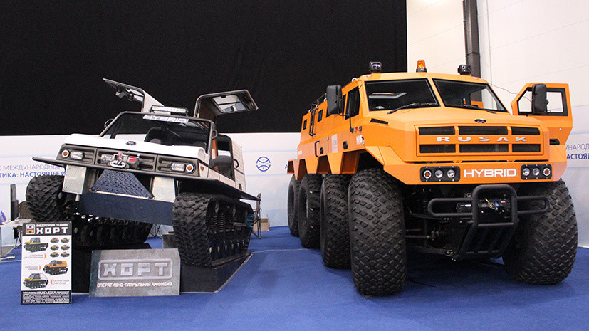 Russia's New Arctic All-Terrain Vehicles