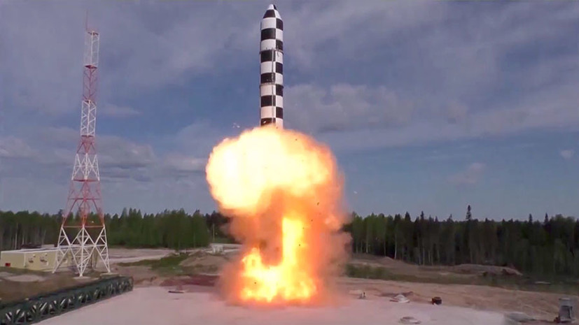 Russia's RS-28 Sarmat ICBM To Be Delivered To Strategic Missile Forces Soon