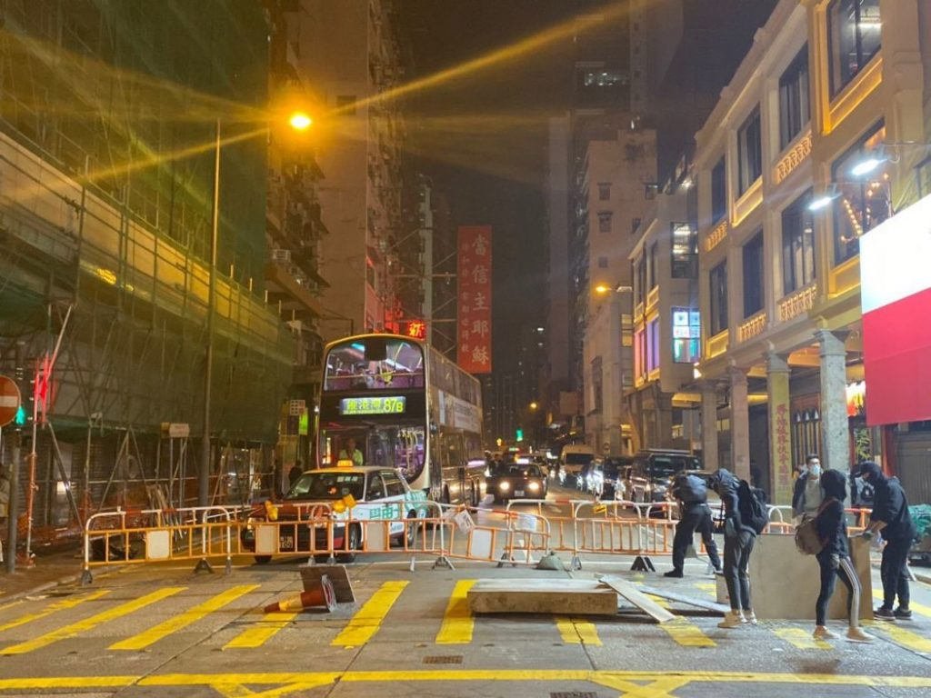Hong Kong Rioters Mark Christmas Eve With Mall Attack (Photos)