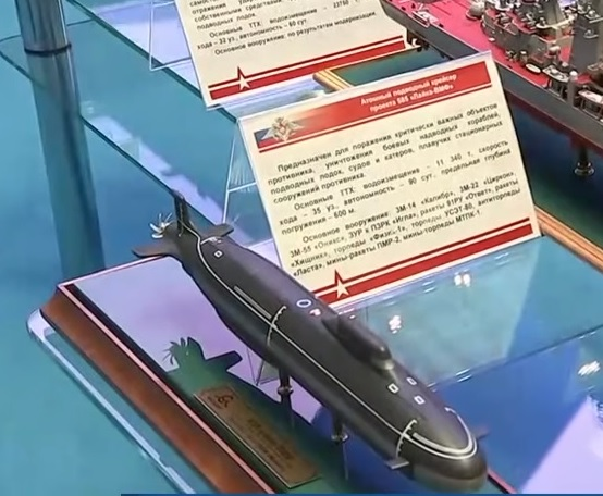 Russia's Fifth-Generation Nuclear Submarine Cruiser To Be Armed With Zircon Hypersonic Missiles