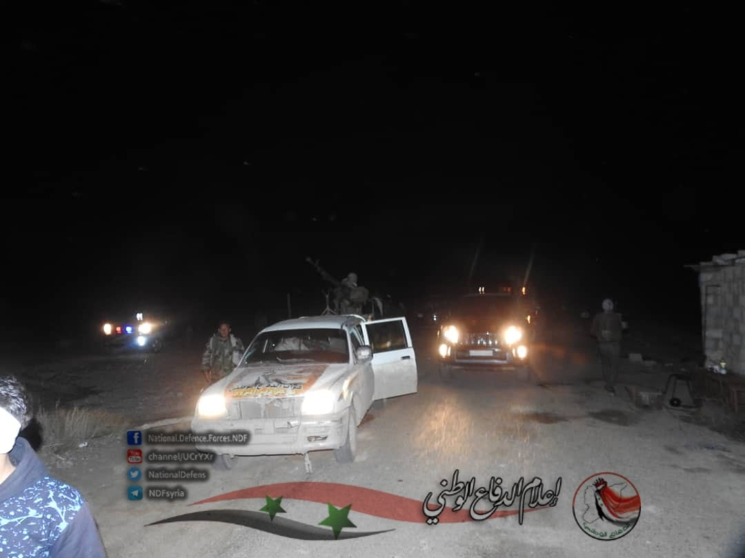 National Defense Forces Reinforce Deir Ezzor Main Highway Following Reports Of ISIS Attack (Photos)