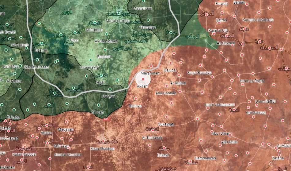 Syrian Army Captures One Of Biggest Towns In Southeast Idlib