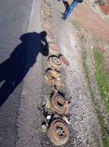 Syrian Security Forces Bust Booby-Trapped Car On Daraa-Damascus Highway (Photos)