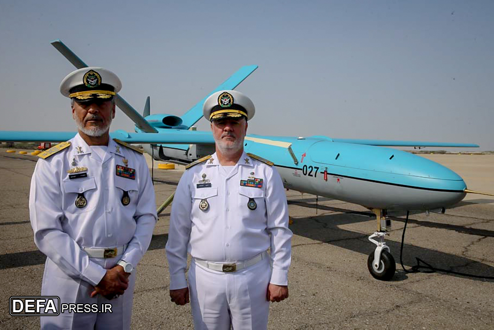 Special Variant Of Shahed-129 Combat Drone Entered Service With Iranian Navy (Photos)
