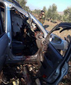 "Suspected ""Ninja Bomb"" Strike Kills Three Militants In Syria's Afrin"