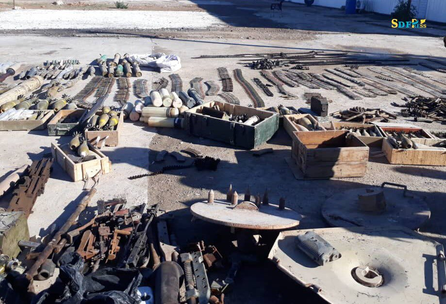 SDF Neutralizes ISIS' Weapons & Logistics Smuggling Network In Deir Ezzor (Photos)