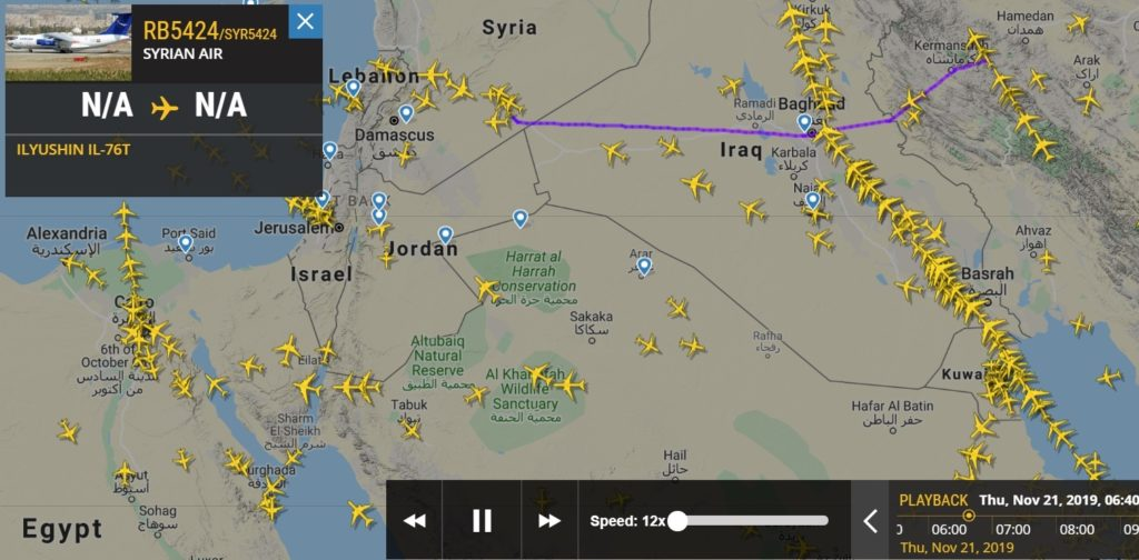 Iran Setting up Offensive Air Base in Syria: Israeli Media Fearmongering