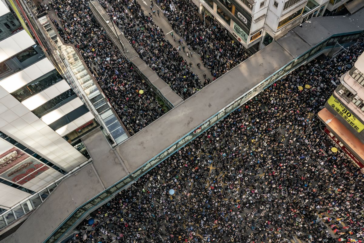 Six Months of Protests in Hong Kong Marked With Massive Rally