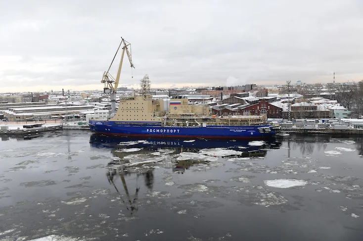 World's Most Powerful Diesel-Electric Icebreaker - the Viktor Chernomyrdin Delayed Again