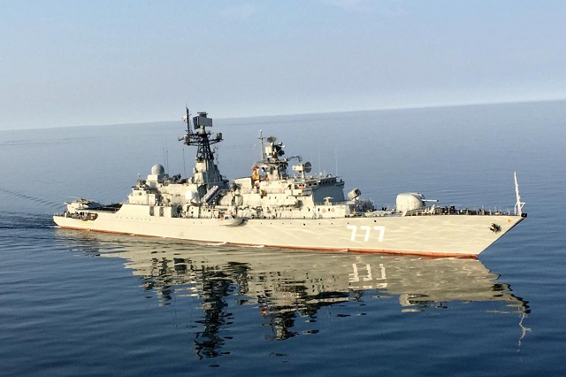 China, Russia and Iran's Navies Hold Joint Drills In the Persian Gulf For the First Time Ever