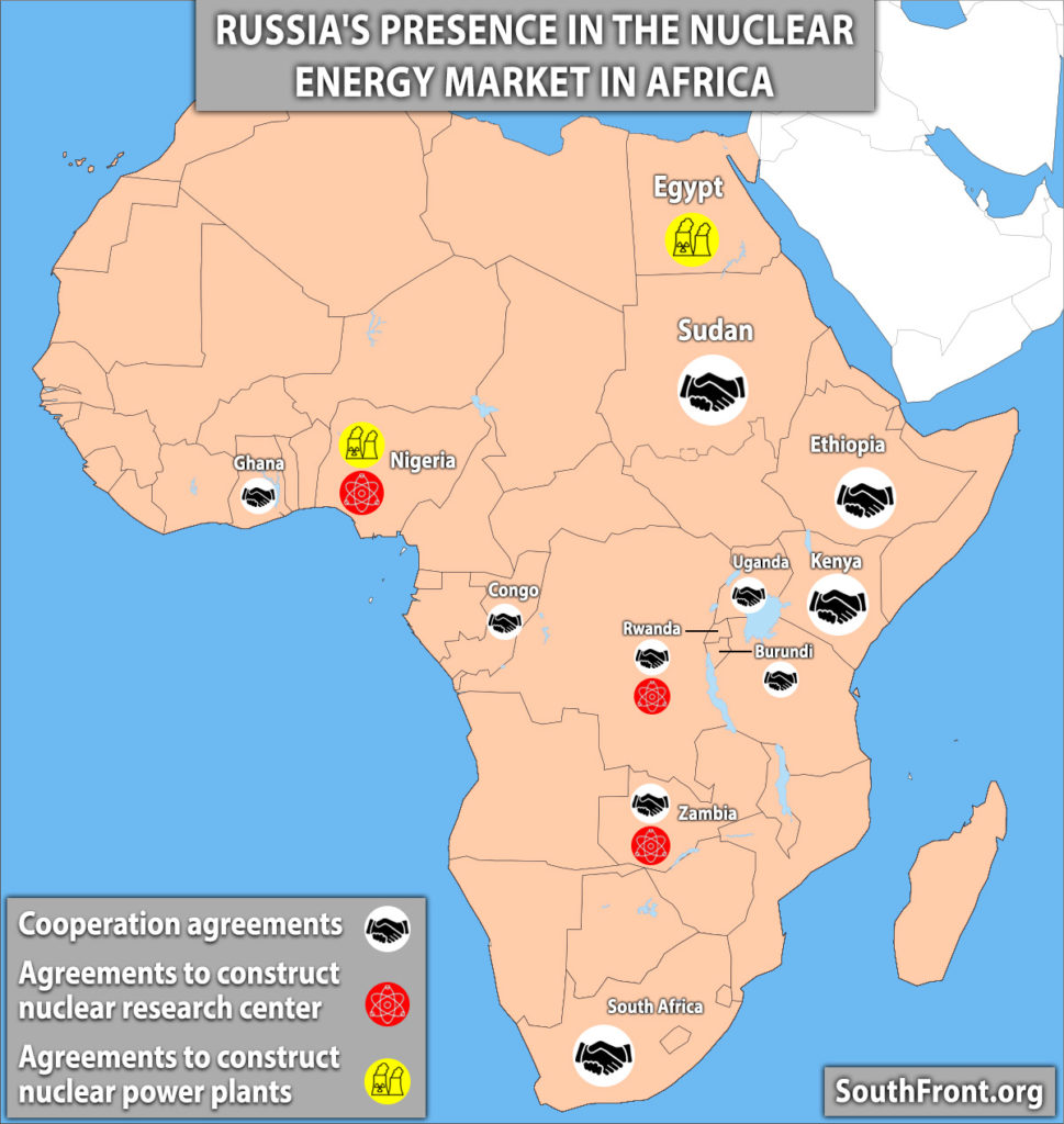 Russia's Expansion In African Nuclear Energy Market