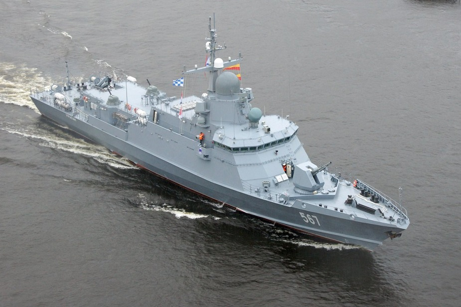 Russia Laid Another Karakurt-Class Guided Missile Corvette Armed with Kalibr Cruise Missiles