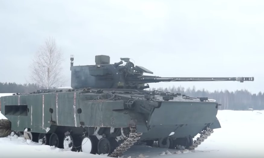In Video: Live-Fire Tests Of Russia's 2S38 Derivatsiya-PVO Anti-Aircraft Artillery System