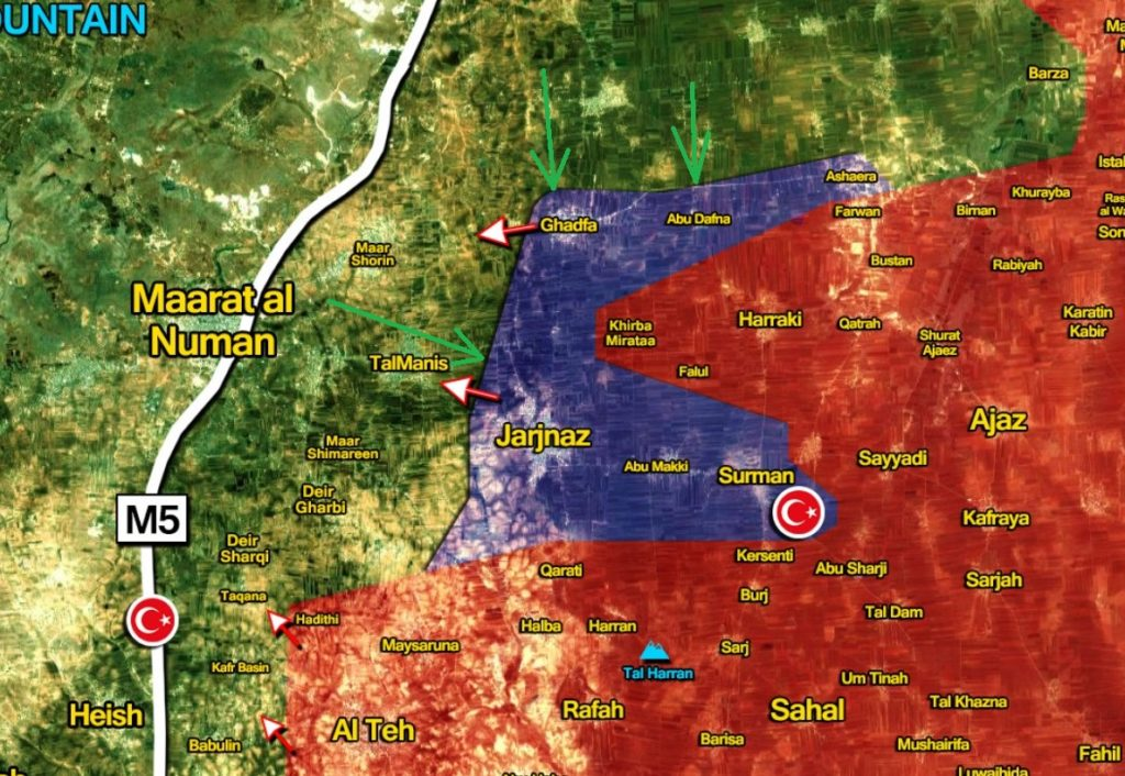 Syrian Army Repelled Militants' Counter-Attack, Resumed Advance On Maarat al-Numan