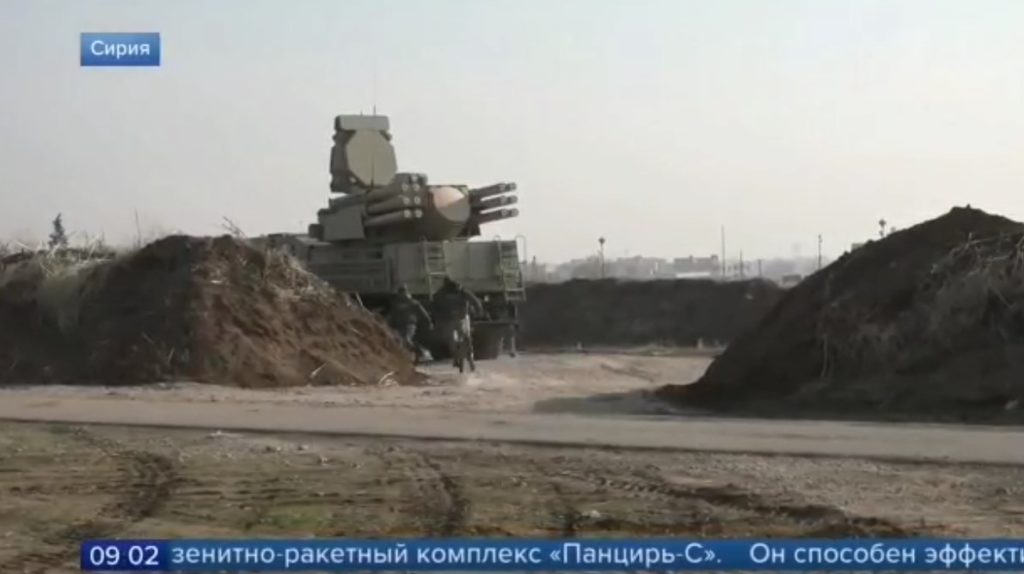 Chinese JYL-1 Radars, Russian Pantsir-S Air Defense Systems Deployed At Syria's M4 Highway, Russian TV Reveals