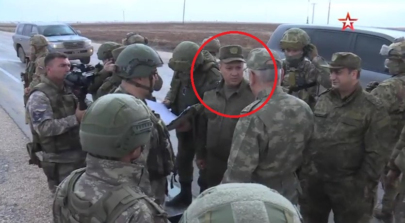 Commander Of Russian Forces In Syria Inspects Northeastern 'Safe Zone' Area