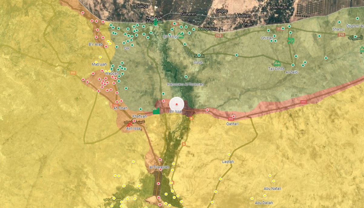 Turkish Artillery Shells Syrian Army Position In Northern Raqqa, Kills Several Soldiers