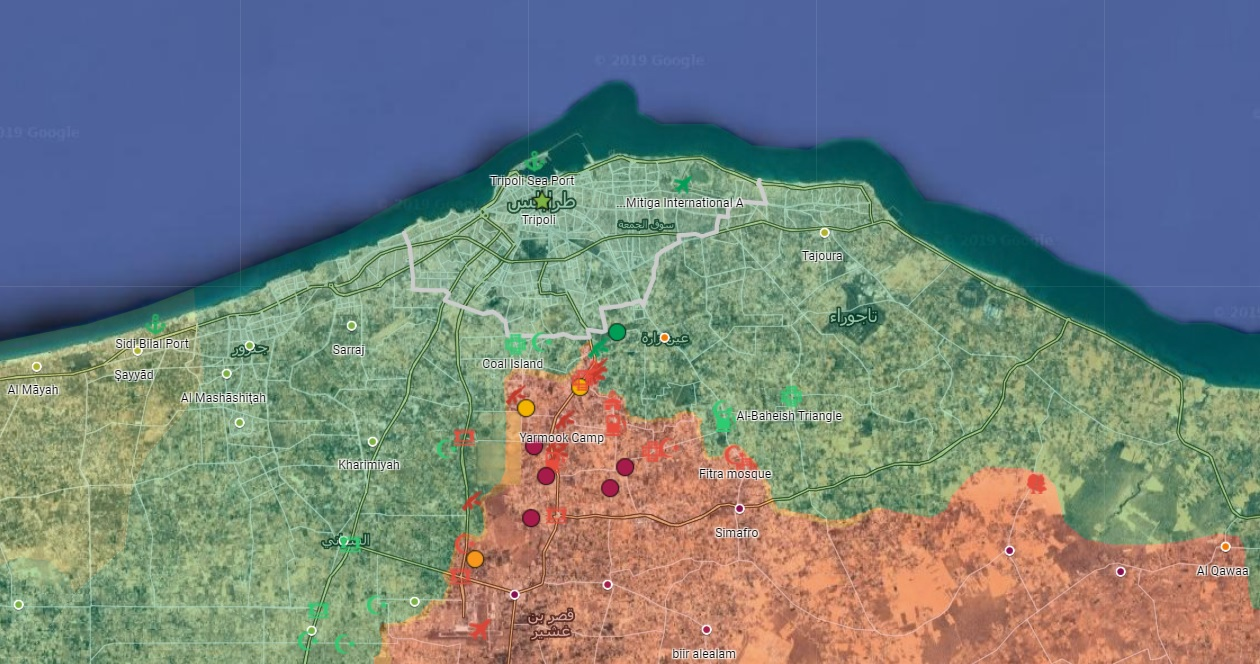 LNA Captures Strategic Highway, Says Its Troops Are 4km Away From Tripoli's City Center (Video)
