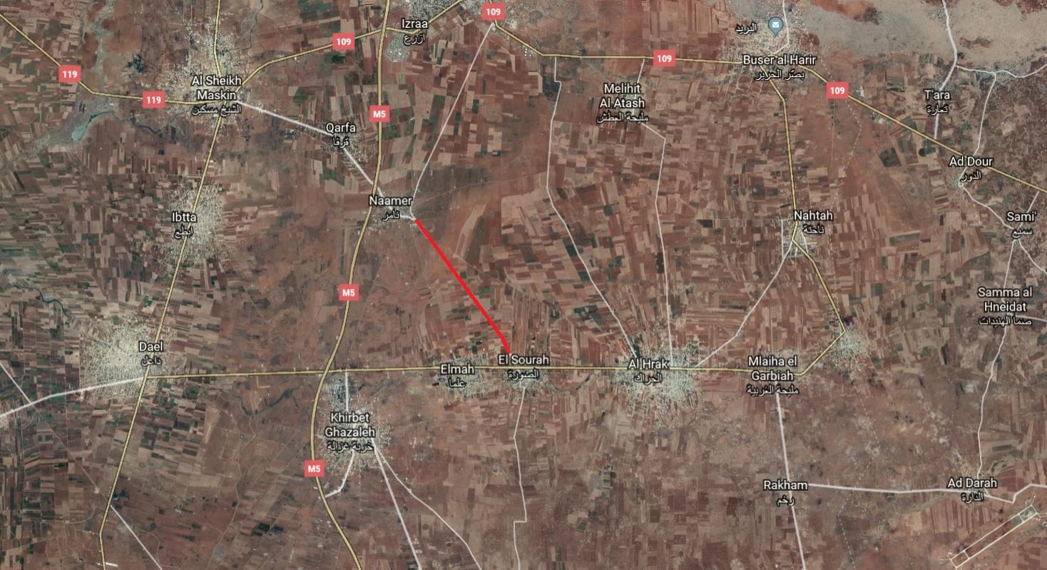 New IED Attack Targets SAA Vehicle In Eastern Daraa