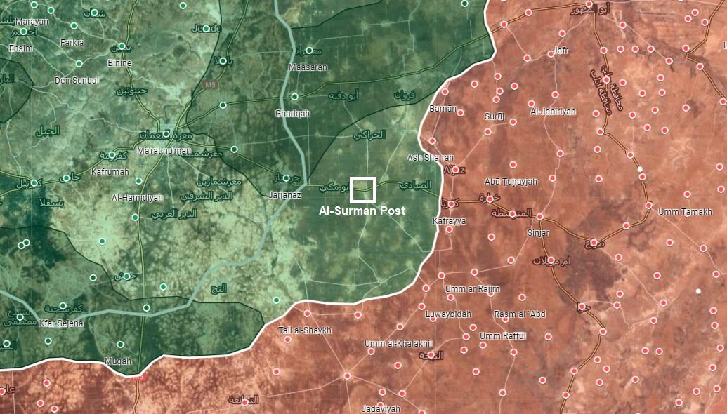 Syrian Army Shells Turkish Observation Post In Southeast Idlib