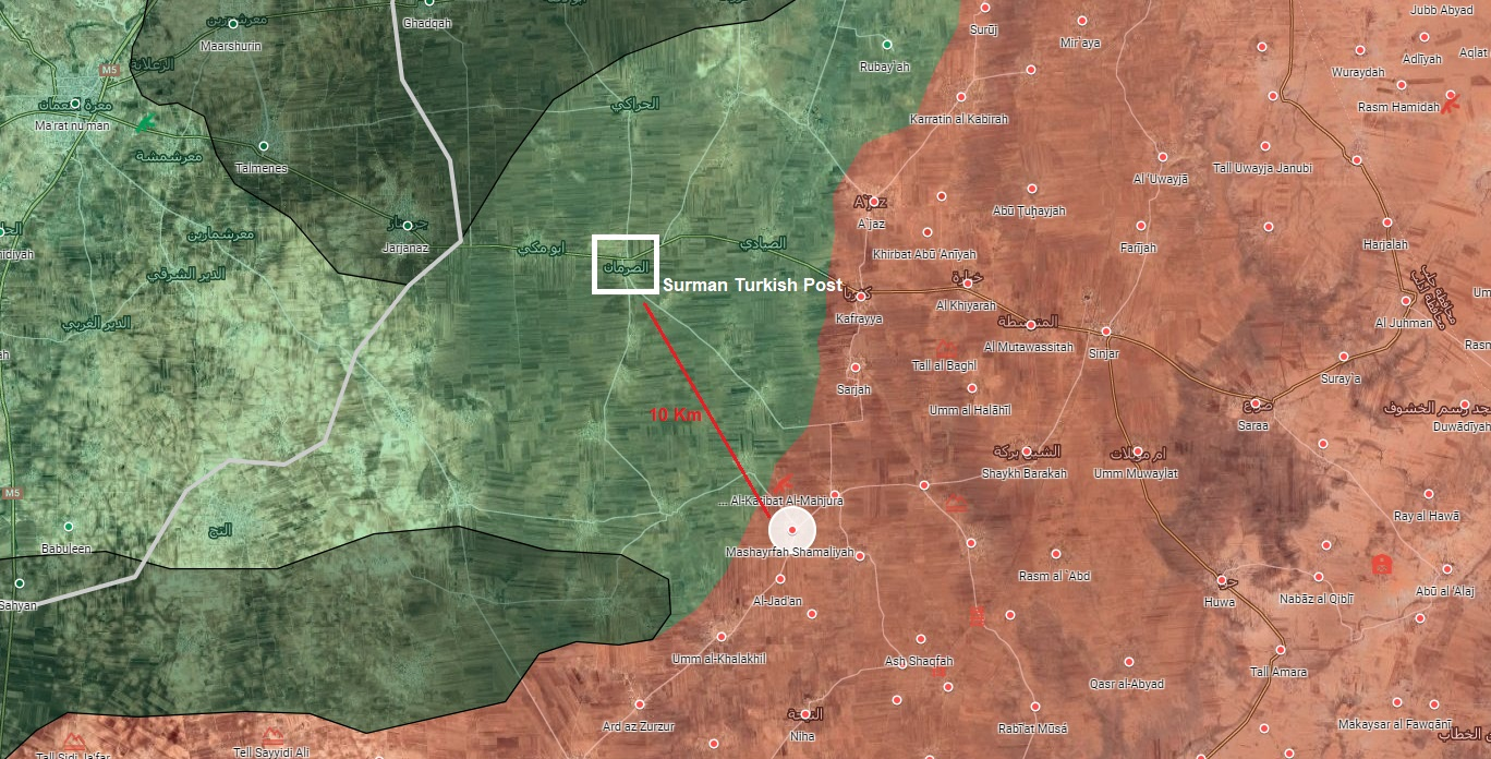 In Video: Idlib Militants Shell Syrian Army Positions From Turkish Observation Post Area