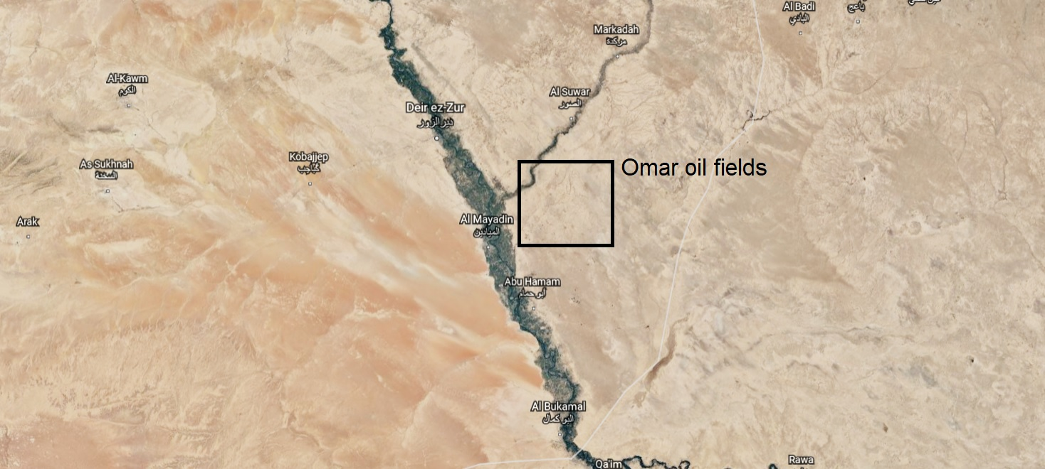 Unknown Gunmen Attack U.S.-Occupied Omar Oils Fields In Eastern Syria – Reports