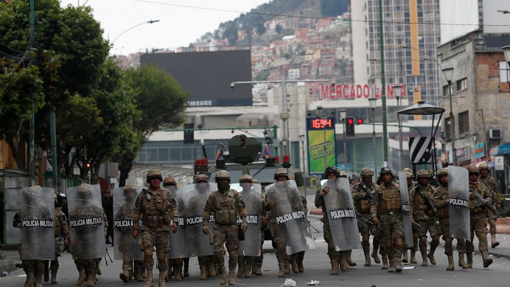 """Bolivian Coup Government Orders """"Law Enforcement Operation"""" Against Morales Supporters"""