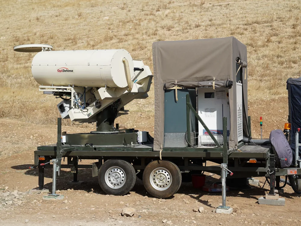 Israel Develops Anti-Balloon and Multicopter Combat Laser