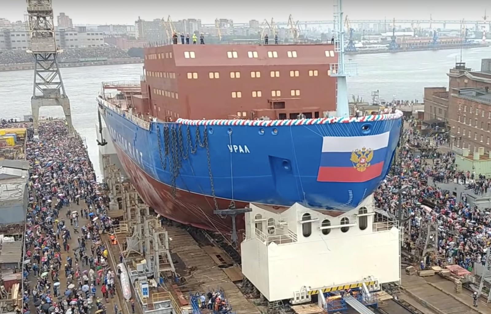 Russia Expanding Its Impressive Icebreaker Fleet Even Further